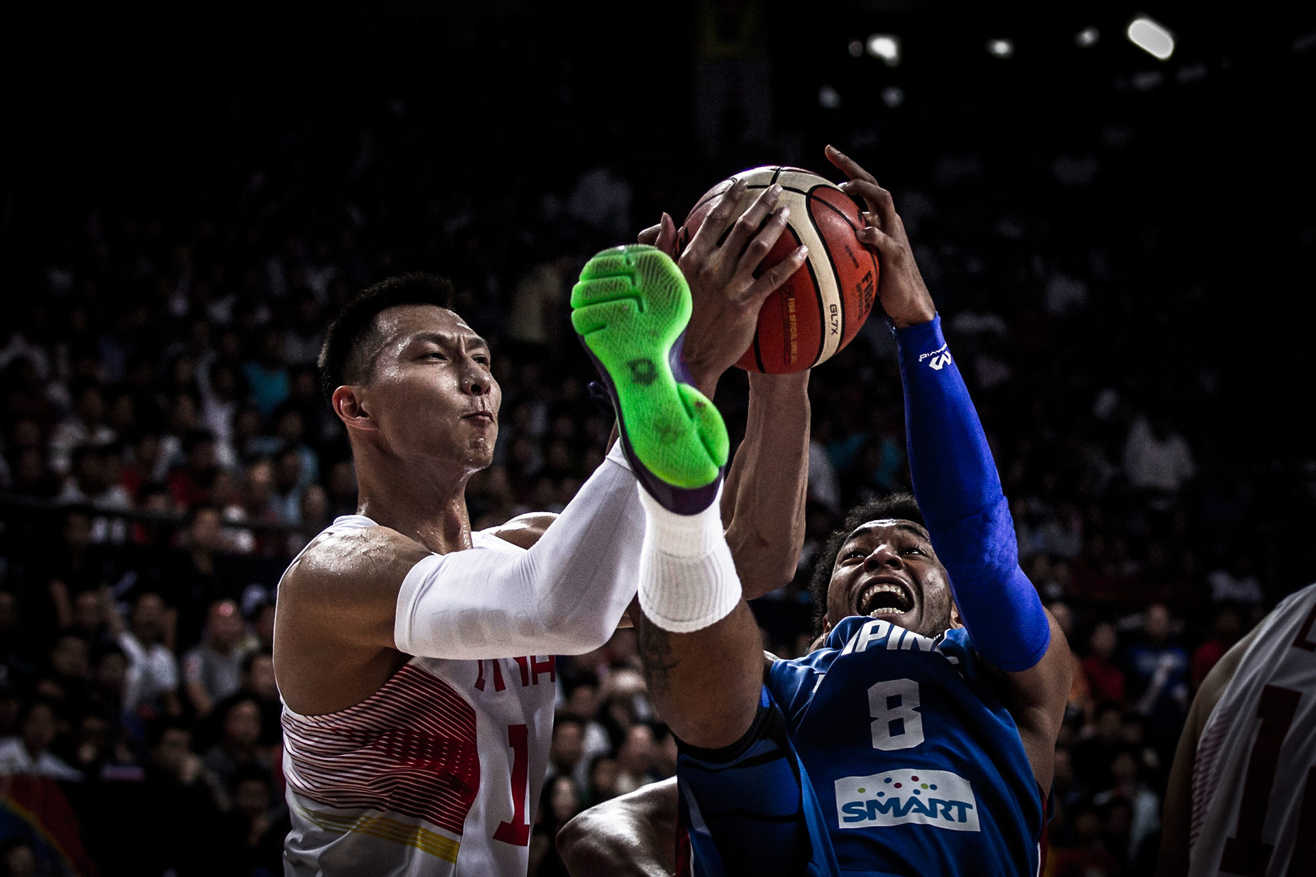 China v Philippines, 2015 FIBA Asia Championship