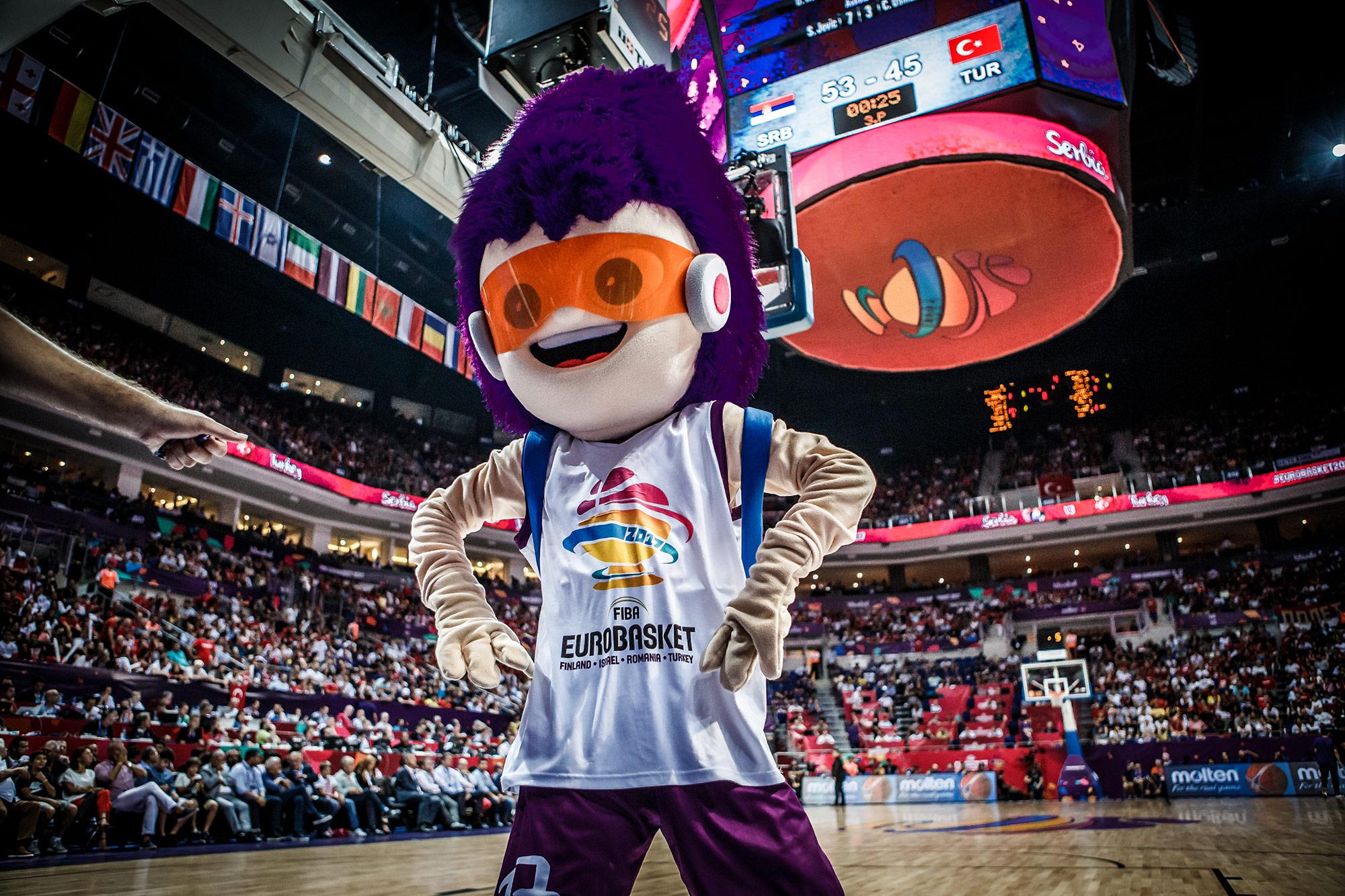 Euro Basket 2017 Mascot