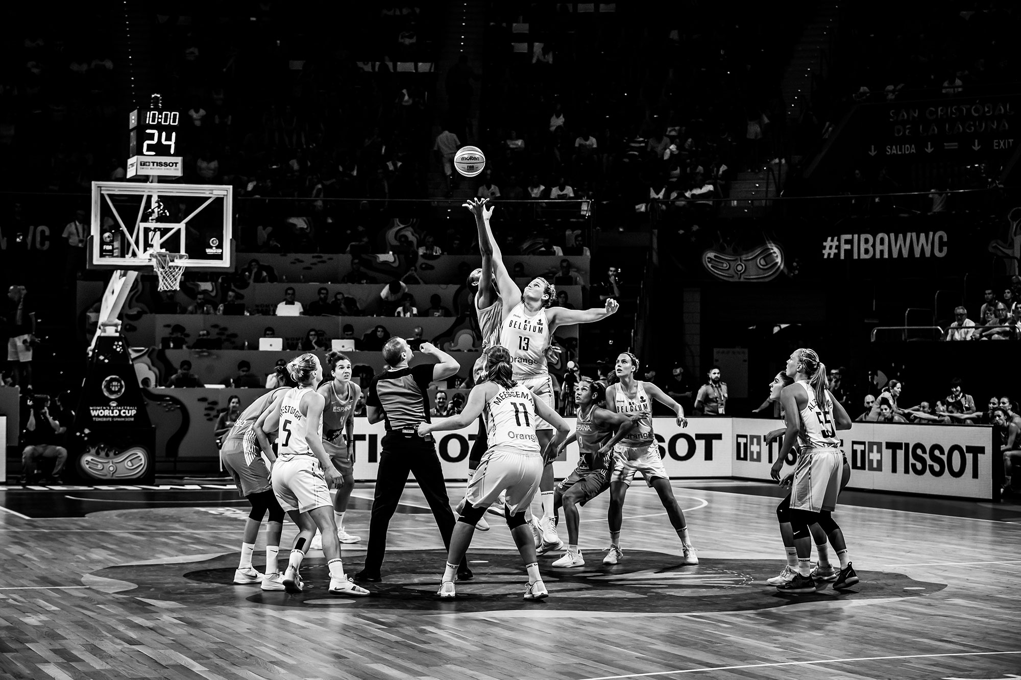 2018 FIBA Women's Basketball World Cup, San Cristobal de La Laguna – Santiago Martin Arena (Spain)