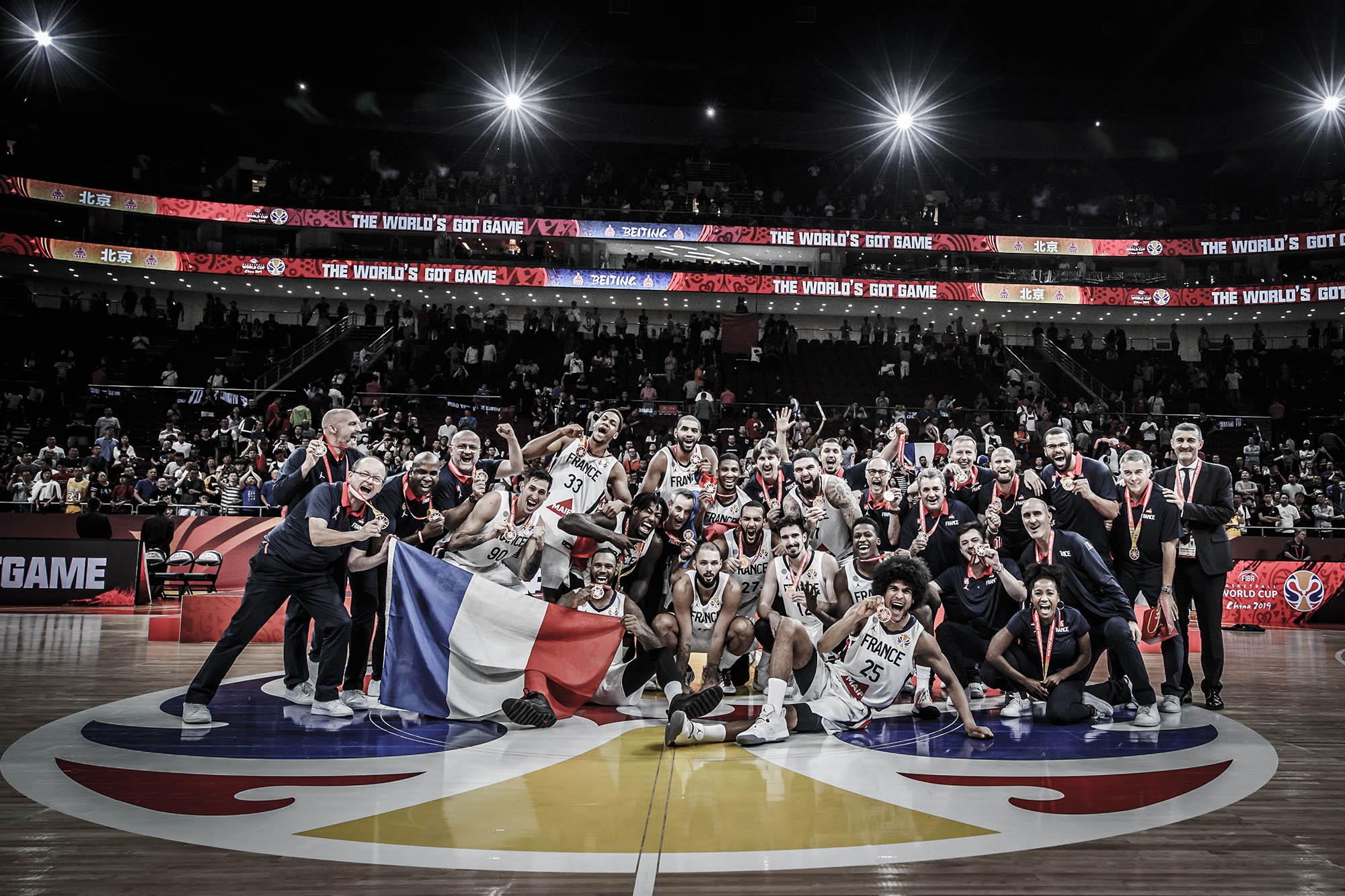 France Team posing